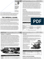 Epic 40k 3rd edition imperial army list