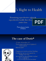 04 Womens Right to Health - Prof. Fatima Alvarez Castillo