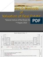 Valuation of Real Estate (NIREM) 2nd Autust 2013