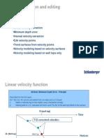 Velocity Extraction