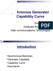 Synchronous Generator Capability