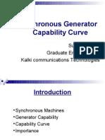 Synchronous Generator Capability