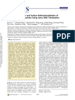 Facile Phase Transfer and Surface Biofunctionalization Of