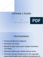 LATIHAN 1 PLAXIS