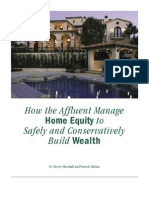 How Affluent Manage Home Equity