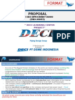 Format Progress1 DIMA DECI Learning Center 10