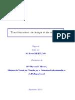 Rapport Mettling -Transformation Numerique Et Vie Au Travail