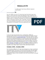 history of itv