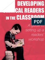 Developing Critical Readers in the Classroom