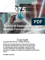 Technical Aspects in LIS with Special Focus on Production