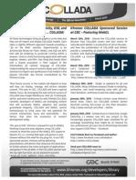 GDC10 Collada Newsletter Flyer-2
