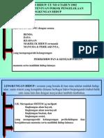 Pengertian LINGKUNGAN 2015 (Bagian 2)