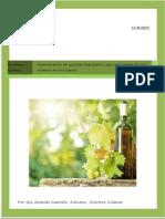 determinacion de azucares reductores y azucar total en muestra de Vino