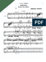 Chabrier - Espana (for Two Pianos)