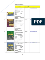 Daftar Buku-buku Teknik Pengelasan