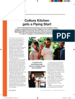 Culture Kitchen's Flying Start
