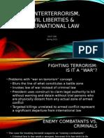 Civil Liberties and Intl Law