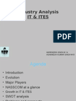 Indian IT  and ITES Industry Analysis