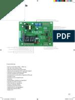 Manual Centrais Rossi - Kxh 30