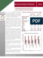Indicateurs Préliminaires Des Échanges Extérieurs Du Maroc à Août 2015