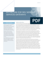 AppSecure for SRX Series Services Gateways Datasheet
