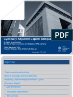 Cyclically Adjusted Capital Adequacy Ratios