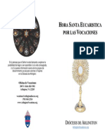 2014 Vocations Holy Hour Booklet Spanish.doc