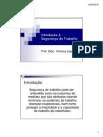Slides 02 - Introdução a Segurança Do Trabalho