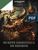 Codex Hueste Demoníaca de Khorne