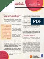 Mainstreaming de gènero y cambio organizacional pro equidad de gènero