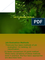 Job Evaluvation by Shency Francis