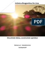Revista Eletrônica Bragantina On Line - Setembro/2015