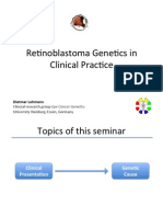 Retinoblastoma genetics