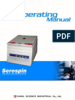 Serospin Operating Manual 20100407