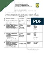 Program Activitati Comisie Metodica