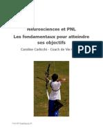 eBook Neurosciences Et PNL Les Fondamentaux Pour Atteindre Ses Objectifs