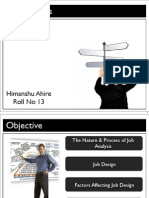 HRM - Job Analysis