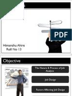 HRM - Job Analysis