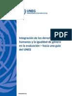 Evaluacion con enfoque de igualdad de género y derechos humanos