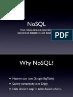 No SQL