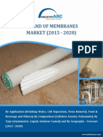 Ro and Uf Membranes Market