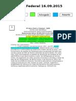 Diário Federal 16.09.2015