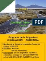 Clase 1 Legislacion Ambiental Vespertino