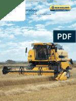 Catalogo Cosechadoras Series Tc5000 New Holland Agricola