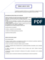 Cuadernillo de Física de 6º Del IGSM