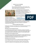Proyecto movilidad social económica