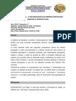 Tópico Especial a Historiografia Do Império Português Debates e Perspectivas