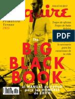 Esquire The Big Black Book - PrimaveraVerano 2015.pdf