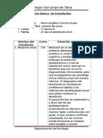 Ficha Básica de Estudiantes 1ºB