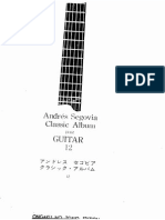 SEGOVIA Andrés - Classic Album Vol 12 [Works by Ponce, Torroba, Segovia, Tansman, Manén](Chitarra)